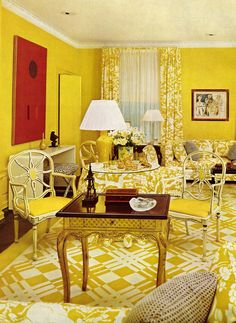 House & Garden's Complete Guide to INTERIOR DECORATION ©1970