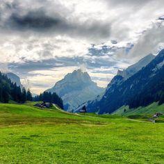 Between mountains #appenzell #alpstein #swiss #switzerland #schweiz #suisse #svizzera  M Y  H A S H T A G :: #pdeleonardis C O P Y R I G H T :: @pdeleonardis C A M E R A :: iPhone6  #inlovewithswitzerland #switzerlandpictures #feelthealps #ig_switzerland #hiking4fun #visitswitzerland #ig_europe #wu_switzerland #igerswiss #swiss_lifestyle #aboutswiss #sbbcffffs #ig_swiss #bealpine #amazingswitzerland #loves_switzerland #switzerland_vacations #swissalps #hiking #pictureoftheday #blickheimat…