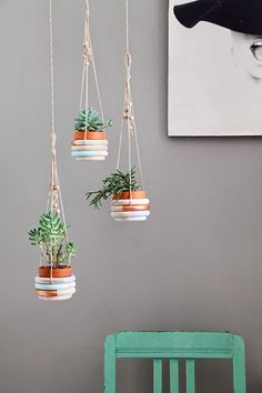 Ohoh Blog - diy and crafts: DIY Monday # Plant hangers