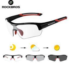 e6e18b1983 ROCKBROS Photochromic Cycling Sunglasses Eyewear UV400 Polarized MTB  Bicycle Goggles Women Men Outdoor Sports Bike Glasses