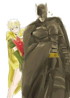 Alfred F Jones is the Batman and Robin is Arthur Kirkland the dynamic duo USUK
