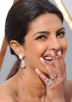Click to see the most stunning (and most expensive) diamond jewelry worn on last night's Oscars red carpet. We've got jewels from Priyanka Chopra, Jennifer Garner, Charlize Theron, and more (the designs are by Neil Lane, Harry Winston, Tiffany & Co., and Lorraine Schwartz)