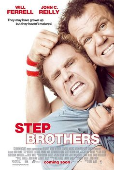 Step Brothers , starring Will Ferrell, John C. Reilly, Mary Steenburgen, Richard Jenkins. Two aimless middle-aged losers still living at home are forced against their will to become roommates when their parents get married. #Comedy