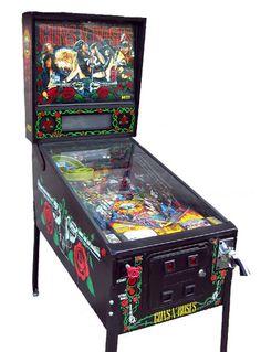 Pinball Machines - Guns N' Roses Pinball Machine - The Pinball Company