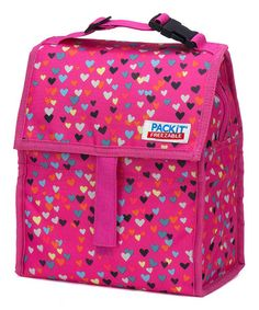 Love this Hearts Lunch Cooler by PackIt on #zulily! #zulilyfinds