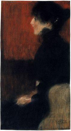 Gustav Klimt I Portrait Of A Lady ✏✏✏✏✏✏✏✏✏✏✏✏✏✏✏✏ IDEE CADEAU  ☞ gabyfeeriefr.tumblr.com  .....................................................  CUTE GIFT IDEA   ☞ frenchvintagejewelryen.tumblr.com  ✏✏✏✏✏✏✏✏✏✏✏✏✏✏✏✏
