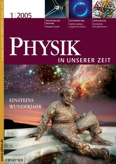 "Cover of Vol. 1, 2005, ""Einstein year"""