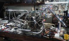 Motorcycle Garage, Sci Fi, Bike, Bicycle, Science Fiction, Bicycles