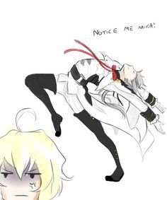 owari no seraph, Mika and everyones favorite douche bag