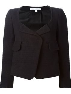 Shop Carven cropped jacket in Bernard from the world's best independent boutiques at farfetch.com. Over 1000 designers from 300 boutiques in one website.