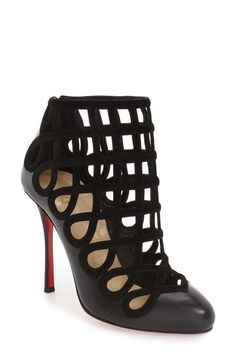 Christian Louboutin 'Cajaboot' Cage Bootie (Women)