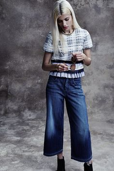 Denim Delight: Shop new spring #denim styles by 7 For All Mankind & more!