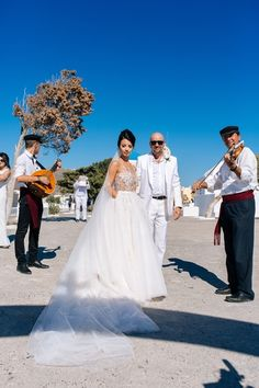 Bride Groom Photoshooting Santorini Island Wedding Planner