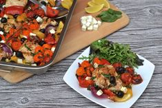 A website dedicated to sharing hundreds of healthy & delicious recipes that are all Paleo and Specific Carbohydrate Diet Legal. Lots of Vegan, Keto & recipes too! Healthy Chicken, Chicken Recipes, Chicken Meals, Greek Orzo Salad, Healthy Grains, Greek Chicken, Roasted Peppers, Eat Smart, How To Make Salad