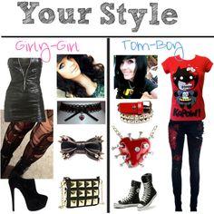 Girly-Girl/ Tomboy Styles - Polyvore