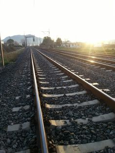 Train rails, Aliartos