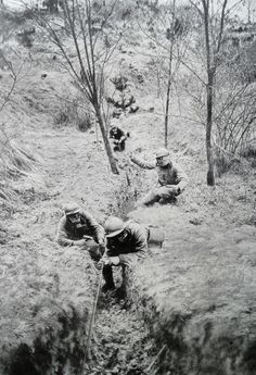 French sappers during world war one