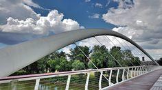 Szolnok sétáló híd 3.