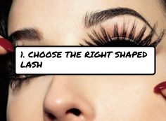 1. #Choose the Right Shaped Lash