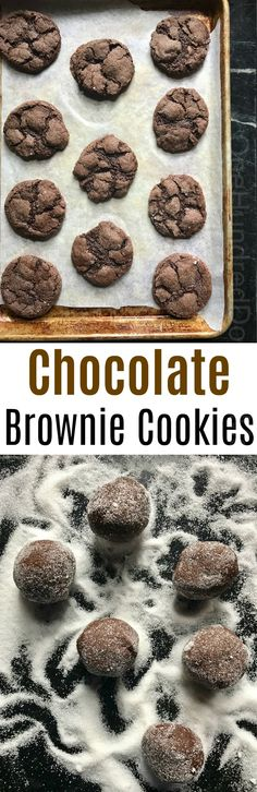 Chocolate Brownie Cookies, Bake Sale Bestsellers, Bake Sale Cookies, Bake sale ideas, Chocolate cookie recipes, Brownie cookies