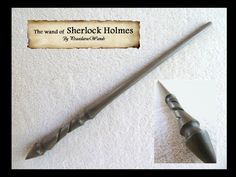 The Wand of Sherlock Holmes by PraeclarusWands on deviantART