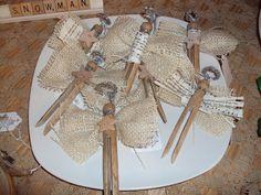 Clothespin Angel Ornament Idea