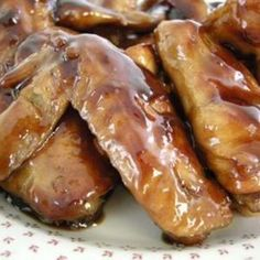 Cola Ginger Chicken Wing