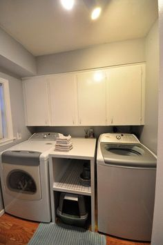"""Find out additional details on """"laundry room storage diy cabinets"""". Browse through our web site. Laundry Room Shelves, Laundry Room Remodel, Small Laundry Rooms, Laundry Closet, Laundry Room Design, Laundry Drying, Office Desk Organization, Laundry Room Organization, Laundry Room Inspiration"""