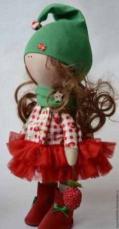 Купить Интерьерная кукла - интерьерная кукла, текстильная кукла, кукла, кукла…
