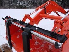 Home built tractor forks