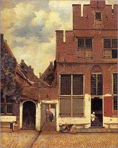 Little street - Johannes Vermeer van Delft