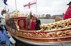 The Queen's Diamond Jubilee will be celebrated along the Thames as hundreds of adorned boats will float along the river