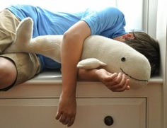 NobleKnits.com: Swans Island Natural Chloe the Big Beluga Whale Knitting Pattern