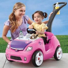 Perfect ride on car toy for my niece!!