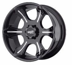 20x9 Moto Metal MO965 Black Wheel/Rim(s) 5x150 5-150 20-9 ET18 Toyota Tundra (4)