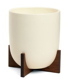 Case Study® Ceramic Bullet with Wood Stand - Small - Modernica, Inc