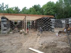 Rammed Earth Home Designs | Cronk Earthship (tire House), Rammed Earth,  Passive