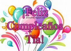 Image result for feliz cumpleaños tia