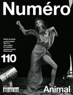 #NumeroFrance 110 #AnnaSelezneva by #PeterLindbergh