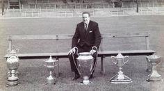 big jock wi the trophies Glasgow Green, Celtic Fc, Liverpool Fc, Football, Club, Image, Legends, Paradise, History