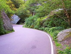 Smuggler's Notch, Vermont. Just up the hill from our bed and breakfast. It was really beautiful and narrow!