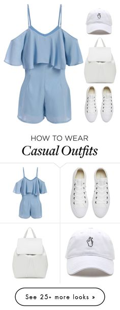 """""""Casual outfit"""" by stevie-pumpkin on Polyvore featuring Mansur Gavriel and Converse"""