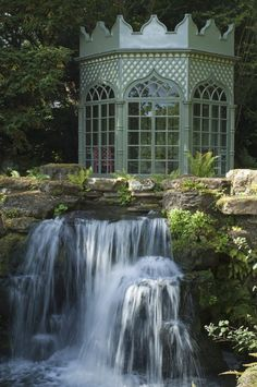 The garden at Woolbeding, West Sussex...