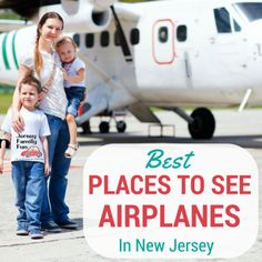 Knowing how much kids love planes we've compiled this list of the best New Jersey places to watch airplanes with your kids.