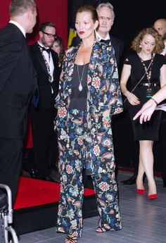 Kate Moss' spring style is on point // #spring #style #fashion