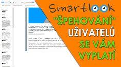 Smartlook záznam obrazovek uživatelů