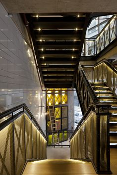 Bread Street Kitchen   Projects   Hoare Lea Lighting   Specialist lighting design consultancy