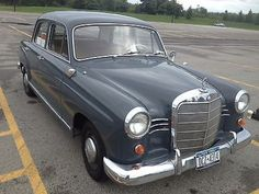 "1960 Mercedes-Benz 190D ""Ponton"" 4 Cylinder Diesel with Veggie Oil Option"