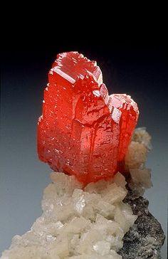 Cinnabar / Guizhou, China /  Mineral Friends <3