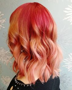 CHERRY BLONDE IS FALL'S SWEETEST TREND Pastel Hair, Hair Color, Long Hair Styles, Cherry, Beauty, Instagram, Makeup, Make Up, Haircolor